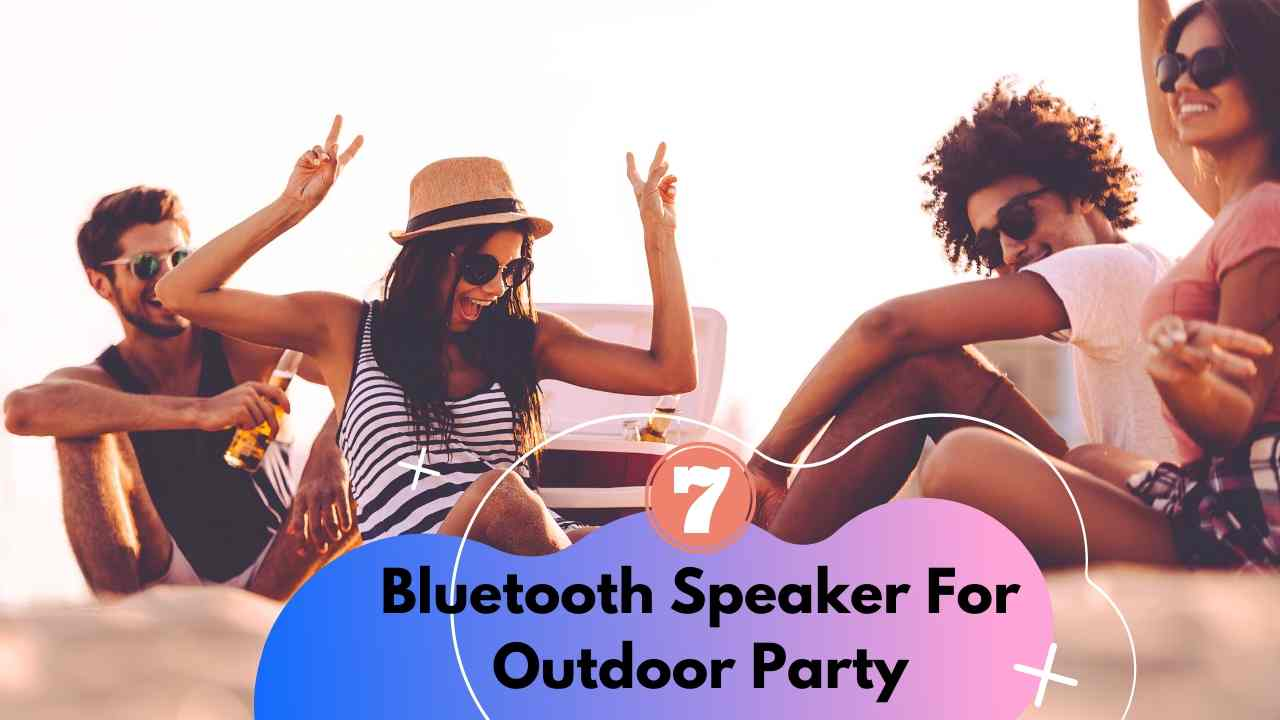 Bluetooth Speaker For Outdoor Party